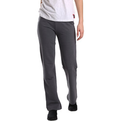 Kleidung Damen Fließende Hosen/ Haremshosen Key Up 549F 0001 Grau