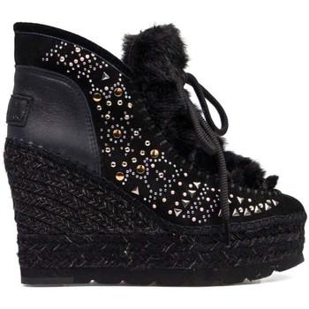Schuhe Damen Low Boots Vidorreta 97053SRTI Schwarz