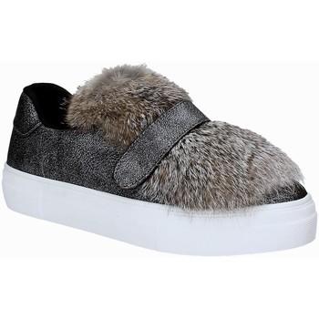 Schuhe Damen Sneaker Low Gold&gold B17 FA115 Silber