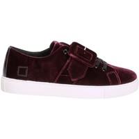 Schuhe Damen Sneaker Low Date W271-AB-VV-PU Violett