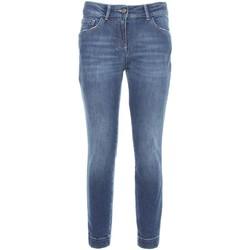 Kleidung Damen Slim Fit Jeans NeroGiardini A760110D Blau
