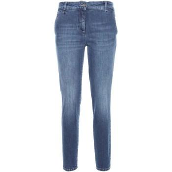Kleidung Damen Slim Fit Jeans NeroGiardini A760120D Blau
