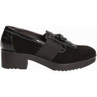 Schuhe Damen Slipper Susimoda 875084 Schwarz