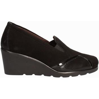 Schuhe Damen Slipper Susimoda 872877 Schwarz