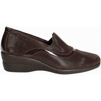 Schuhe Damen Slipper Susimoda 871516 Braun