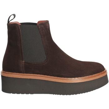 Schuhe Damen Low Boots Triver Flight 217-03 Braun
