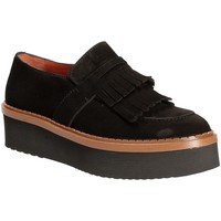 Schuhe Damen Slipper Triver Flight 217-04 Schwarz