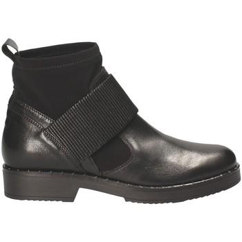 Schuhe Damen Low Boots Mally 5887D Schwarz