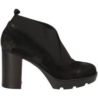 Schuhe Damen Low Boots Janet Sport 40837 Schwarz