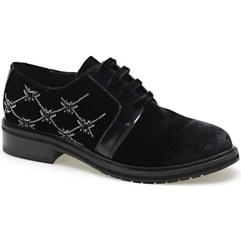 Schuhe Damen Derby-Schuhe Apepazza CMB03 Schwarz