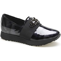Schuhe Damen Slip on Apepazza MCT16 Schwarz