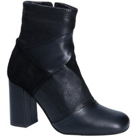 Schuhe Damen Low Boots Keys 7173 Schwarz