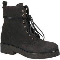 Schuhe Damen Low Boots Mally 4235 Schwarz