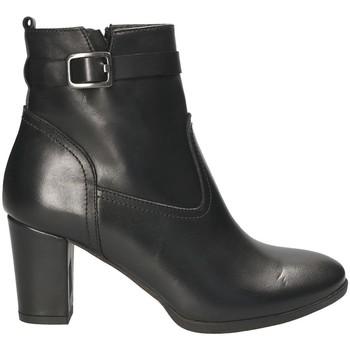 Schuhe Damen Low Boots Mally 4473 Schwarz