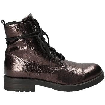 Schuhe Damen Boots Mally 5038 Braun