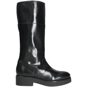 Schuhe Damen Klassische Stiefel Mally 5096Z Schwarz