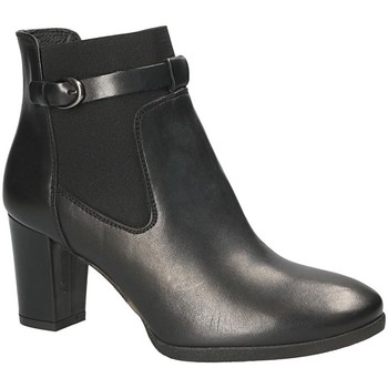 Schuhe Damen Low Boots Mally 5114 Schwarz