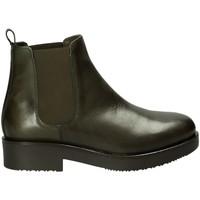 Schuhe Damen Low Boots Mally 5535J Grün