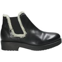 Schuhe Damen Low Boots Mally 5894 Schwarz