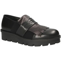 Schuhe Damen Slip on Mally 5965 Schwarz