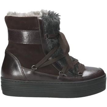 Schuhe Damen Schneestiefel Mally 5990 Braun
