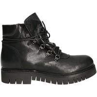 Schuhe Damen Boots Mally 5997 Schwarz