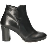 Schuhe Damen Low Boots Mally 5017S Schwarz