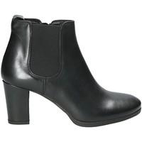 Schuhe Damen Low Boots Mally 5500K Schwarz
