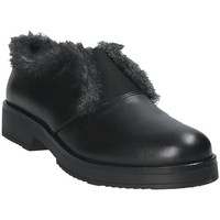 Schuhe Damen Slipper Mally 5885BR Schwarz
