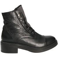 Schuhe Damen Low Boots Mally 6019 Schwarz