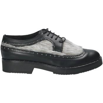 Schuhe Damen Derby-Schuhe Mally 4665SD Schwarz