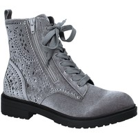 Schuhe Damen Low Boots Fornarina PI18RO1140V006 Grau