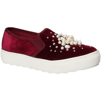 Schuhe Damen Slip on Fornarina PI18RU1149A073 Rot