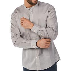 Kleidung Herren Langärmelige Hemden Gaudi 811BU45012 Grau