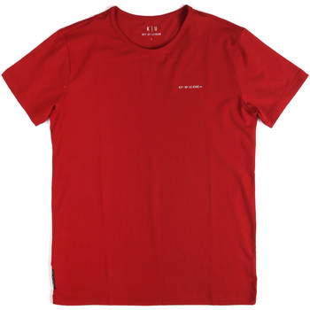 Kleidung Herren T-Shirts Key Up 2G69S 0001 Rot