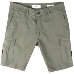 Kleidung Herren Shorts / Bermudas Sei3sei PZV130 8157 Grün