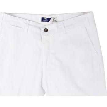 Kleidung Herren Shorts / Bermudas Sei3sei PZV132 81497 Weiß
