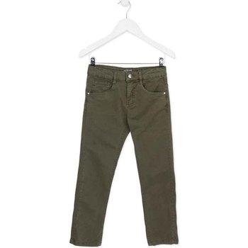 Kleidung Kinder 5-Pocket-Hosen Losan 723 9661AA Grün