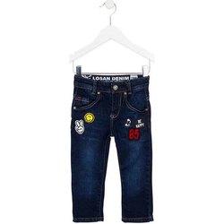 Kleidung Kinder Slim Fit Jeans Losan 725 9006AC Blau