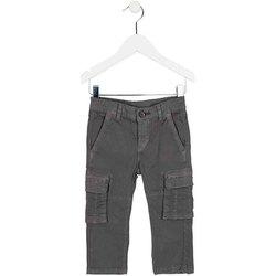 Kleidung Kinder Cargo Hosen Losan 725 9011AC Grün