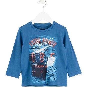 Kleidung Kinder Langarmshirts Losan 725 1203AC Blau