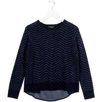 Kleidung Kinder Pullover Losan 724 5792AB Blau