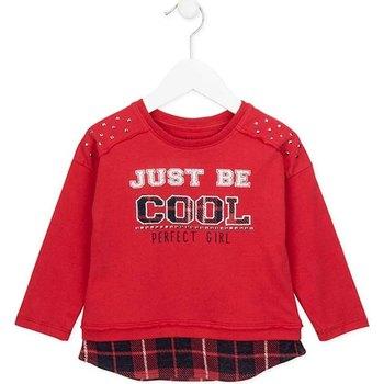 Kleidung Mädchen Sweatshirts Losan 726 1026AD Rot