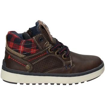 Schuhe Kinder Sneaker High Wrangler WJ17220 Braun