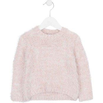 Kleidung Kinder Pullover Losan 726 5002AD Rosa