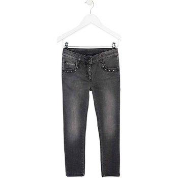 Kleidung Kinder Slim Fit Jeans Losan 724 6034AB Grau