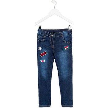 Kleidung Kinder Slim Fit Jeans Losan 723 9000AA Blau
