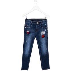 Kleidung Kinder Slim Fit Jeans Losan 723 9003AA Blau