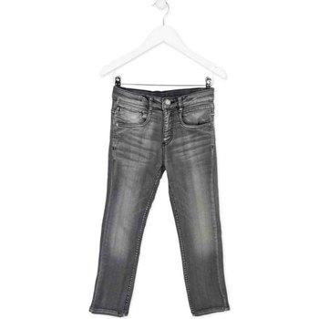Kleidung Kinder Slim Fit Jeans Losan 723 6012AA Grau