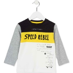 Kleidung Kinder Langarmshirts Losan 725 1018AC Weiß